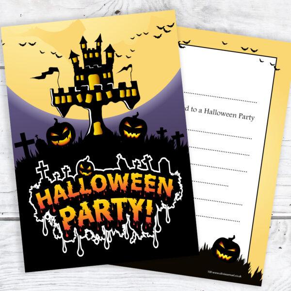 Halloween Party Invitations Ready to Write RTW0100