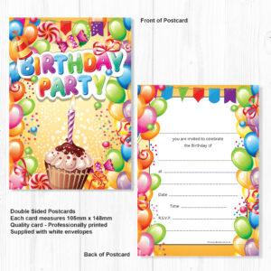 childrens invitations birthday