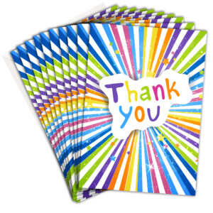 Thank You Cards - Bright Coloured from Olivia Samuel RTW0088