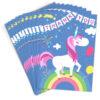 Unicorn Thank You Cards Folding Style with Envelopes