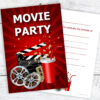 Movie Party Kids Invitations