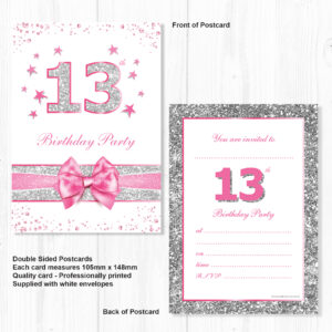Home Invitations Birthday Teen Party