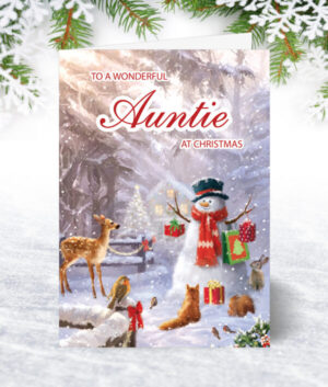 Auntie Christmas Cards