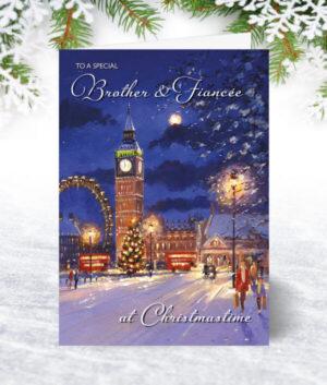 Brother & Fiancée Christmas Cards