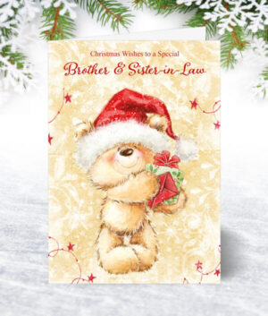 Brother & Sister-in-Law Christmas Cards