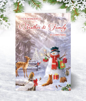 Brother & Family Christmas Cards