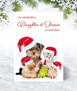 Daughter & Fiancé Christmas Cards