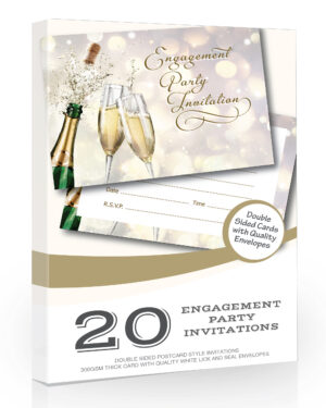 Engagement Party Invitations Pack 20