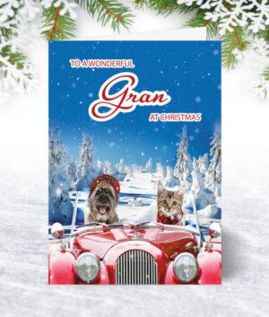 Gran Christmas Cards