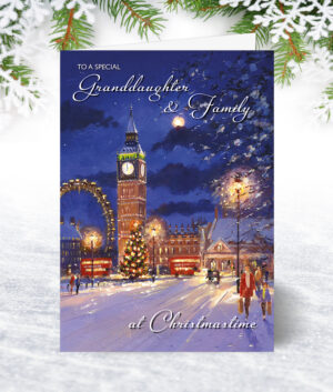 Granddaughter & Family Christmas Cards