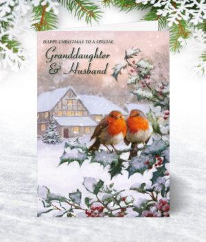 Granddaughter & Husband Christmas Cards