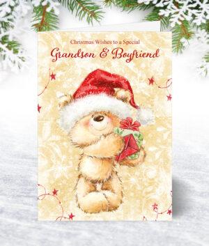 Grandson & Boyfriend Christmas Cards