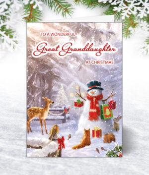 Great Granddaughter Christmas Cards