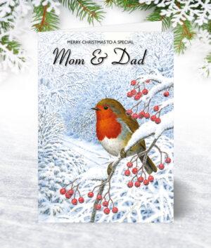 Mom & Dad Christmas Cards