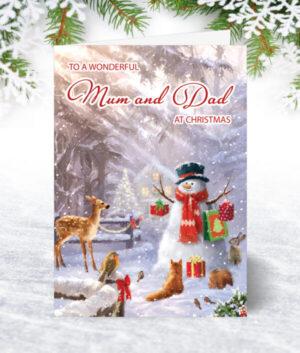 Mum & Dad Christmas Cards