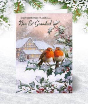 Nan & Grandad Christmas Cards