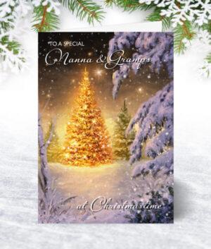 Nanna & Gramps Christmas Cards
