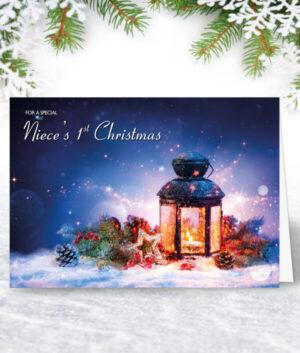 Niece 1st Christmas Cards