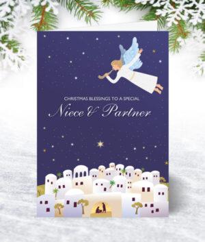 Niece & Partner Christmas Cards