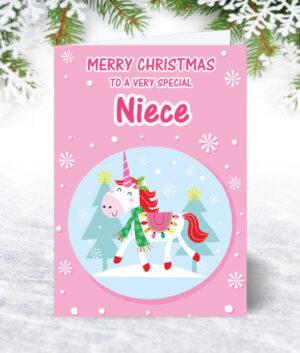 Niece Christmas Cards