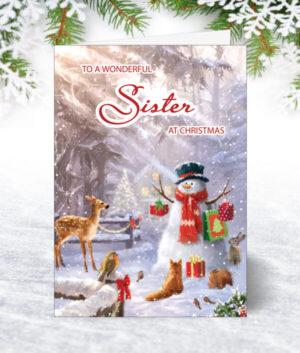 Sister Christmas Cards