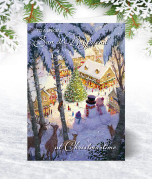 Son & Boyfriend Christmas Cards