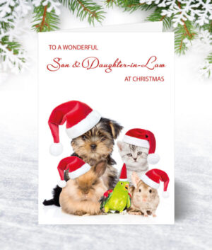 Son & Daughter-in-Law Christmas Cards