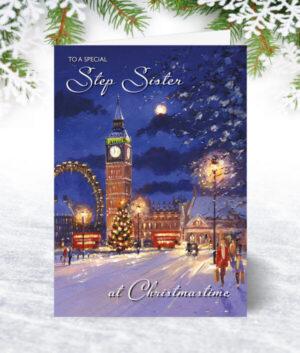 Step Sister Christmas Cards